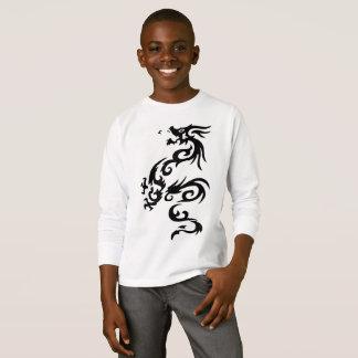 Camiseta del dragón para los niños