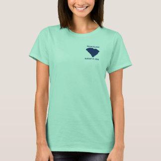 Camiseta del eclipse solar