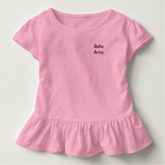 Camiseta del ejército de Bella del niño