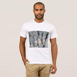 Camiseta del ejército de la terracota