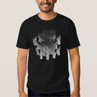 Camiseta del ejército del gato