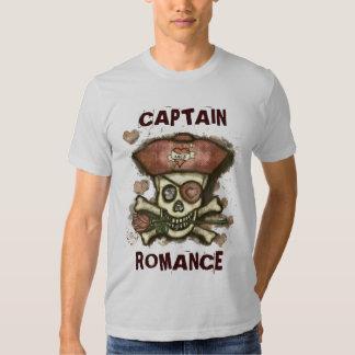 Camiseta del el día de San Valentín del pirata
