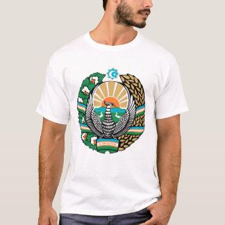 Camiseta del emblema del Uzbek