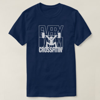 Camiseta del entrenamiento del gimnasio de la