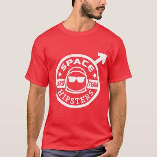 Camiseta del equipo de Hipsters® Marte del espacio