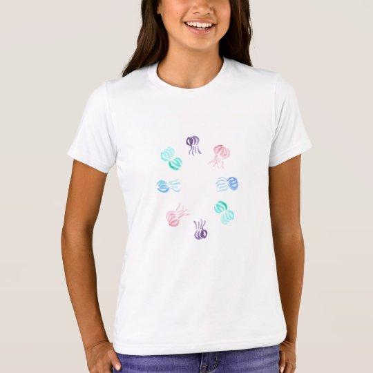 Camiseta del equipo de los chicas de las medusas