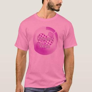 Camiseta del equipo de los novios