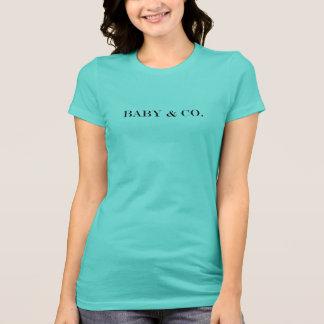 Camiseta del equipo del fiesta de ducha del BEBÉ y