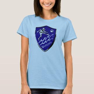Camiseta del equipo del fútbol de las mujeres