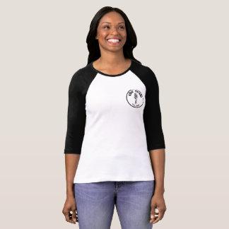 """Camiseta del escudo 3/4-Sleeve """"del sesh"""" de las"""