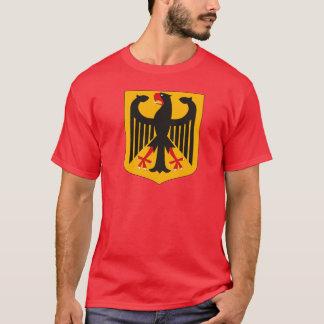 Camiseta del escudo de armas de Alemania