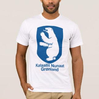 Camiseta del escudo de armas de Groenlandia