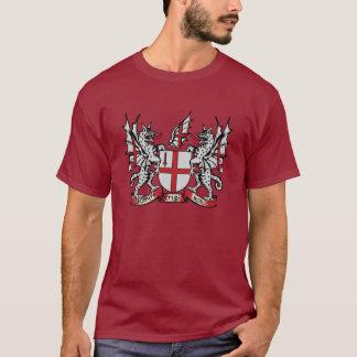 Camiseta del escudo de armas de Londres