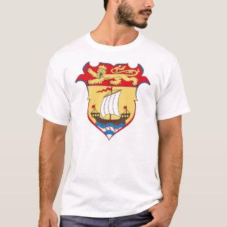 Camiseta del escudo de armas de Nuevo Brunswick