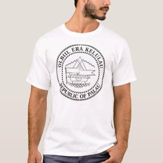 Camiseta del escudo de armas de Palau