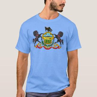 Camiseta del escudo de armas de Pennsylvania