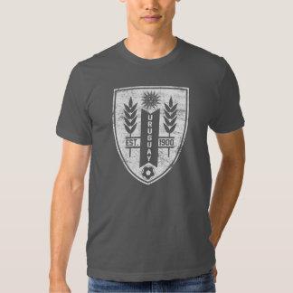 Camiseta del escudo de Uruguay