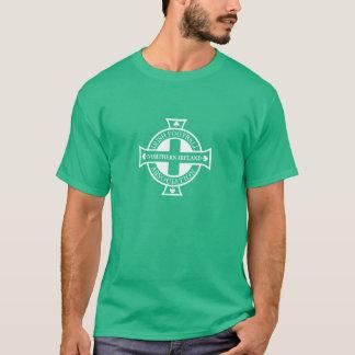 Camiseta del escudo del fútbol de Irlanda del