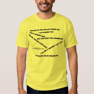 Camiseta del eslogan