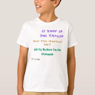 Camiseta del eslogan de Sabina