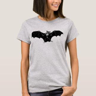 Camiseta del esqueleto del palo de Halloween