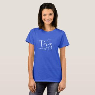 Camiseta del estado de ánimo de Tejas