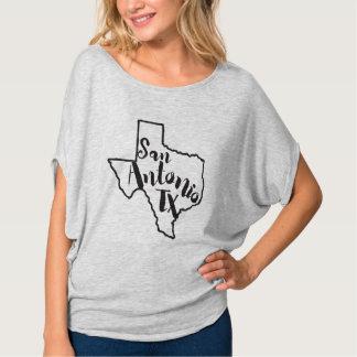 Camiseta del estado de San Antonio Tejas