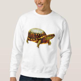 Camiseta del este amistosa de la tortuga de caja