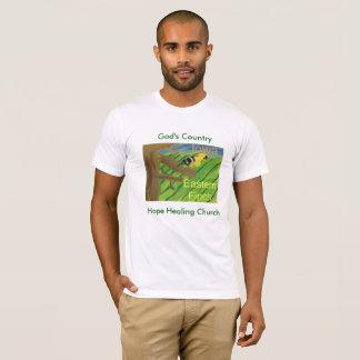 Camiseta del este del cristiano del pinzón del
