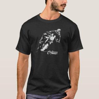 Camiseta del estilo del vintage del magro del