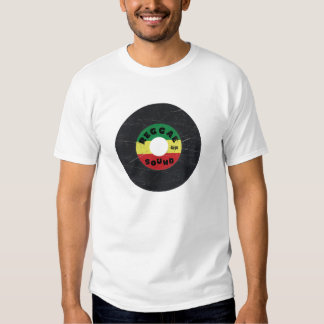 camiseta del expediente del reggae 7-Inch