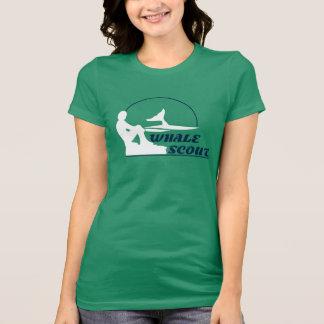 Camiseta del explorador de la ballena