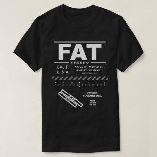 Camiseta del FAT del aeropuerto internacional de