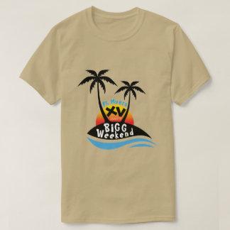 Camiseta del fin de semana XV de la cebada bigg -