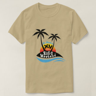 Camiseta del fin de semana XV de la cebada bigg