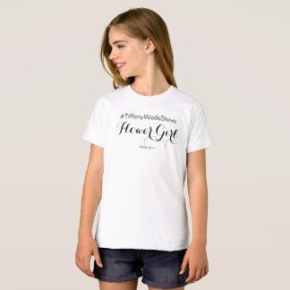 """Camiseta del """"FLORISTA"""" del sistema nupcial"""