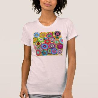 Camiseta del flower power