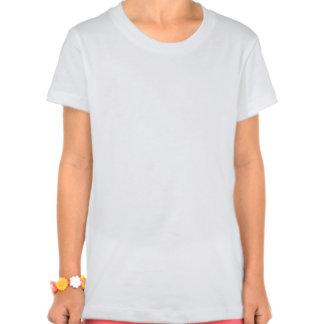 Camiseta del flower power del rosa amarillo