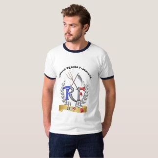 Camiseta del fraternité del égalité de Liberté