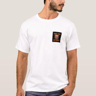 Camiseta del frente y de la parte posterior