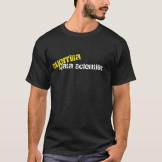 Camiseta del friki del científico de los datos de