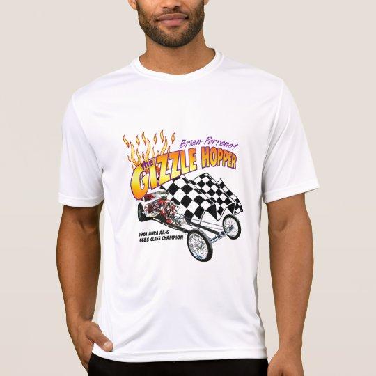 Camiseta del funcionamiento del deporte de los