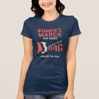 Camiseta del funcionario de marzo San Diego de las