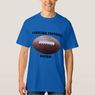 Camiseta del fútbol de Carolina