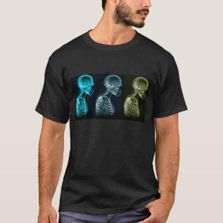 Camiseta del fútbol de la radiografía