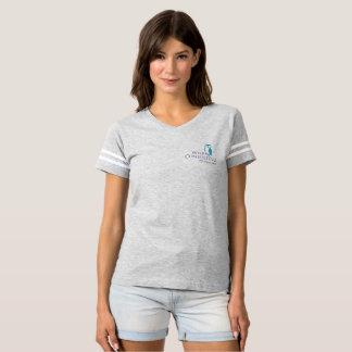 Camiseta del fútbol de las mujeres sabias