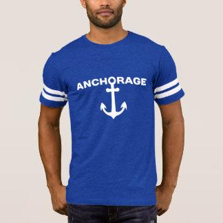 Camiseta del fútbol de los hombres de Anchorage -