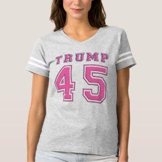 Camiseta del fútbol de presidente PINK de Donald