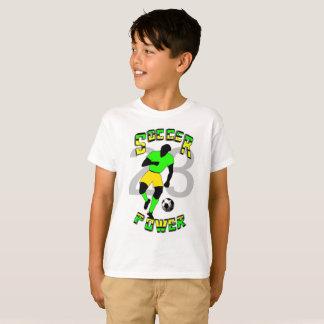 Camiseta del fútbol para los niños