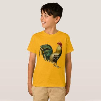 Camiseta del gallo para el aficionado joven del